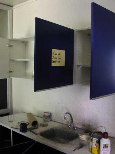 Kitchen Cabinet Pillars