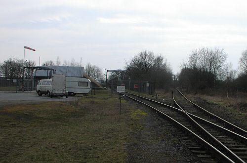 Diggelfjoer railtracking for Depot oldenburg